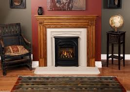 president gas fireplace with colonial front to fit in very small spaces