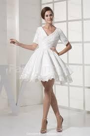 Short Wedding Dress With Sleeves Biwmagazine Com