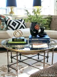 glass coffee table decorating ideas glass table decor end coffee rectangle decorating ideas end table