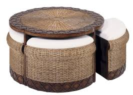 cute cream round industrial wicker coffee table ideas to setup living room designs vintage as wells