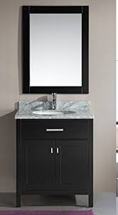 30 vanity with sink. Simple With Design Element DEC076E London 30Inch Single Sink Vanity Set Espresso Inside 30 With E
