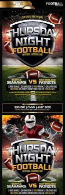 Football Flyer Templates - Flyer And Vector Designs