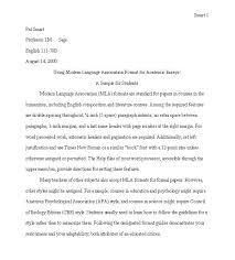 College Admission Essay Format Examples And Forms