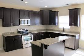 Kitchen Cabinet Granite Top Renovation In Modern White Cabinetry With Wall Cabinet Also Grey