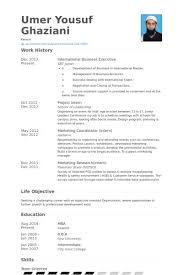 International Business Executive Resume samples