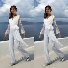 Elegant Mother Of The Bride Pants Suits Formal V Neck Appliqued Wedding Guest Dress Mother Outfit Prom Gowns Women Jumpsuits Pants Grandmother Of