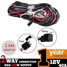 heavy duty wiring suitable for hid halogen light and led light bars 2 way heavy duty led light bar wiring loom harness 40a switch heavy duty wiring suitable for hid halogen light and led light bars