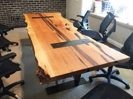 Image Contemporary Custom Wood Office Furniture For Kirkland Businesses Crafthammer Design Custom Wood Office Furniture Kirkland Wa Wood Conference Tables