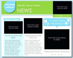 Free Sample Newsletter Template Word Publisher Templates Microsoft