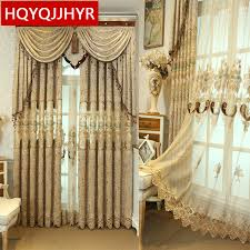 brown curtains for bedroom.  Brown Brown European Luxury High Quality Embroidered Curtains For Living Room  Classic Royal Custom Curtain Bedroom On For U