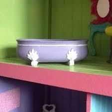 barbie furniture diy. this is our diy barbie bathtub we found at the di 50 cents furniture diy