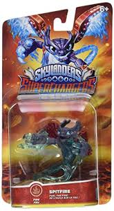 spitfire skylanders. amazon.com: skylanders superchargers: drivers spitfire character pack: video games y