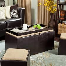 perfect home decoration with ottoman coffee table tray inspiration and ideas trends mr bread crumbs
