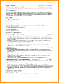 Entry Level Finance Resume Samples Sop Example