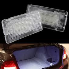 Us 9 89 14 Off 2pcs 24smd Led Footwell Luggage Trunk Interior Light Glove Box Lamp No Error For Bmw X5 E46 E39 E82 E88 E90 E91 E92 E53 F10 F01 In