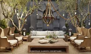 outdoor furniture restoration hardware outdoor designs