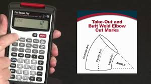 How To Calculate Fitting Take Outs And Butt Weld Elbow Cut Marks Pipe Trades Pro