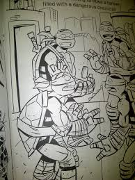 Teenage Mutant Ninja Turtles Coloring Book With Disney Color Also