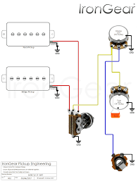 guitar wiring diagram 2 humbuckers 3 way swit wiring library 2 x humbuckers 4 wire 1 vol 1 tone 3