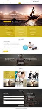 Wellness Website Design Inspiration Upmarket Bold Health And Wellness Web Design For A Company