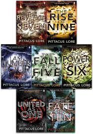 lorien legacies series 7 books collection set by pittacus lore i am number four the power of six the rise of nine the fall of five the revenge of