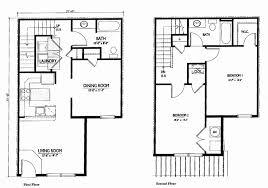 two story residential floor plan fresh simple 2 y house plans homes floor plans