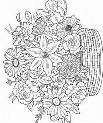free printable flower coloring pages for adults.  For Images Of Printerable Adult Coloring Pages  Free Printable  For Adults Pictures 3 Throughout Printable Flower Coloring Pages For Adults J
