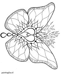 Mandala Kleurplaten Mandala Kleurplaat Kleurplaten Vlinder