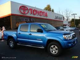 2007 Speedway Blue Pearl Toyota Tacoma V6 TRD Double Cab 4x4 ...