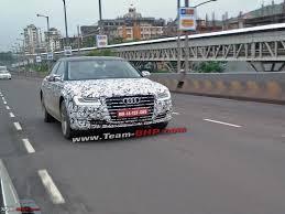 new car launches team bhpTeamBHP Scoop 2014 Audi A8 Facelift in India  TeamBHP