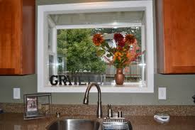 Decorations:Glass Garden WIndow With Shelves Design Small WIndow Kitchen  With Flower In Vases