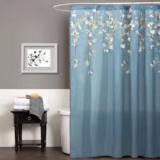 Brown And White Shower Curtain Awesome Shower Curtains Walmart