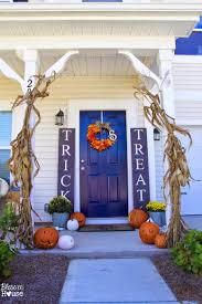 diy halloween decorations home. DIY Halloween Sidelight Signs {and Fall Porch Reveal} - Bless\u0027er House Diy Decorations Home H