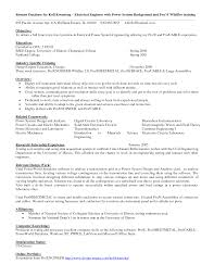 Entry Level Electrical Engineer Resume Filename Invest Wight