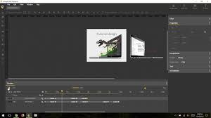 A Web Designer Creates An Animation Timeline Advanced Mode Overview Google Web Designer