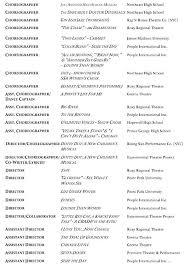 Dance Resume Template Free Best Of Dance Choreographer Resume Dance Resume Sample Dance Resume Dance