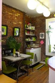 Home Decor  Small Apartment Kitchen Design Modern Home Decorating - Small old apartment