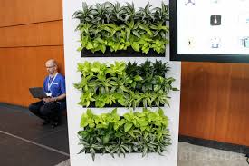 This Living Wall Uses Artificial Intelligence To Purify Indoor Air