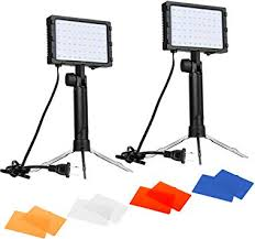 Emart 60 <b>LED</b> Continuous <b>Portable Photography</b> Lighting Kit for ...