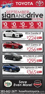 Toyota lease deals rochester ny : I9 sports coupon