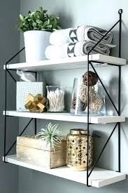 bathroom shelves decor. Accessories For Bathroom Shelves Elegant Shelf Decor Decorating With