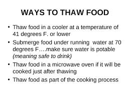 Servsafe Chapter 7 The Flow Of Food Preparation Ppt