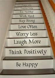 Stairs Quotes Unique Pin By Carolyn R Ménard On Escaliers Makeover Pinterest