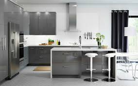 kitchen abstrakt high gloss grey