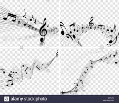 Music Staff Treble Clef Musical Designs With Elements From Music Staff Treble Clef And