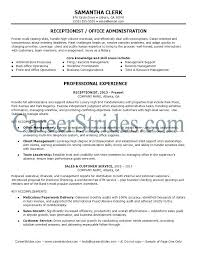 Receptionist Resume Examples Amazing Best Receptionist Resumes Letter Resume Directory