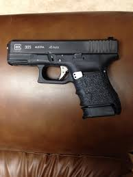 custom glock 30s project finished added phantom trigger talon grips lw frame plug and pearce mag base plate glocklife