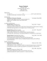 Sample College Freshman Resume College Student Resume Cover Letter Sample Nursing Student Cover
