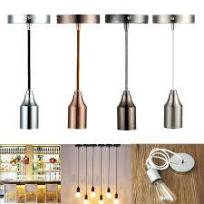 pendant light fitting ceiling rose braided fabric flex pendant lamp holder light fitting lighting kit pendant pendant light fitting