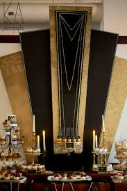 Great Gatsby Wedding Party Decorations Theme (14)
